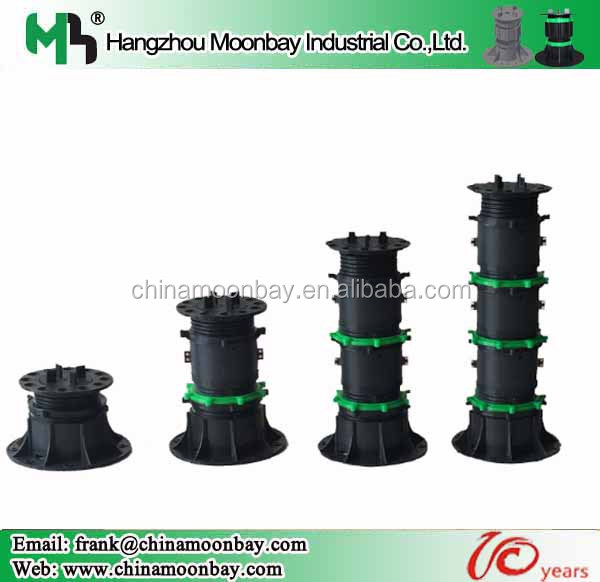 high breakage load shock easy install height adjustable pedestal for water fountain