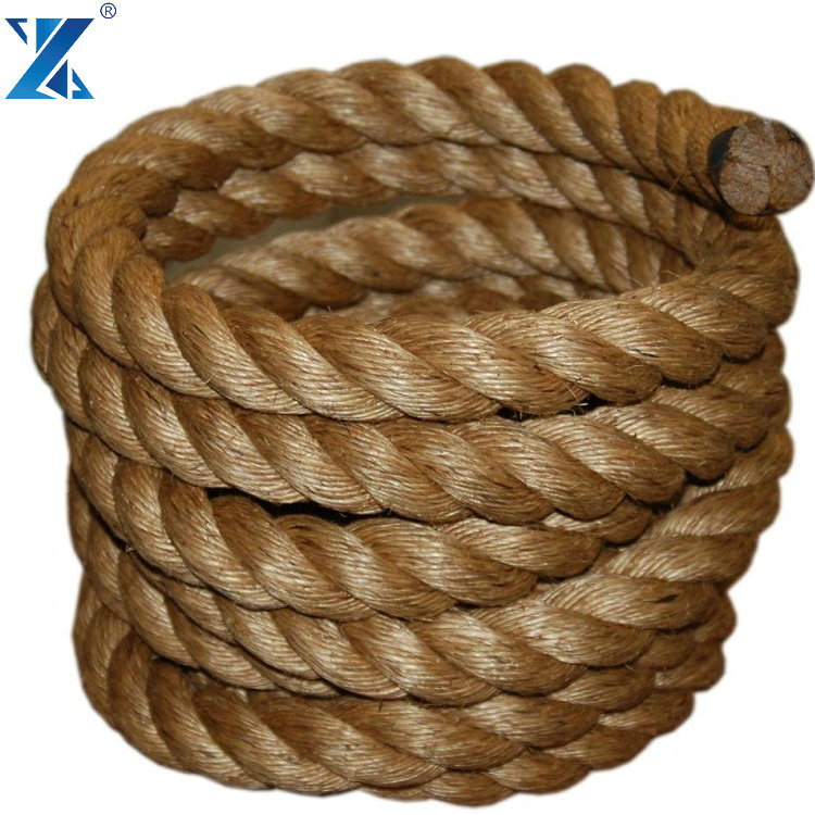 4 Strand natural manila packaging rope in stock