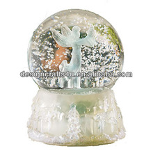 New online White Snow Angel Water Globe