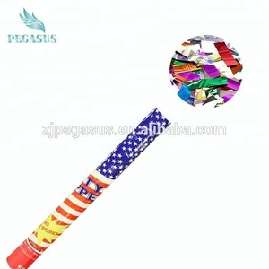 customized multicoloured confetti party popper for party