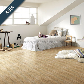 Wood Design Ceramic Floor Tile For Living Room 15x80 15x60 20x100 Cm