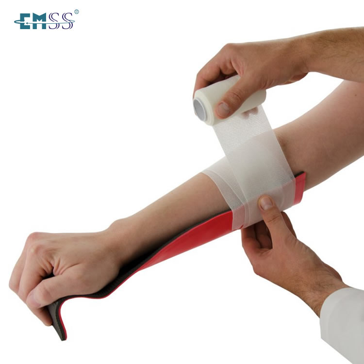EJB-001 Orange Rolled Splint For Legs And Arms