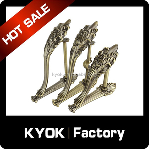 KYOK New design curtain rod bracket, single & double curtain pole holder, flexible curtain pipe finial/ring/accessories on sale