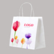 Luxury Custom Printed Laminated Shopping Gift Packaging custom paper bag With logo