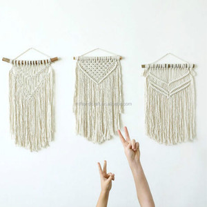 Best Quality 100% Organic Cotton Rope Macrame Wall Hanging indian Wall Art