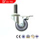 DY78 Castor Running Wheel 3 inch Static-free Universal and Inserted Caster Wheels