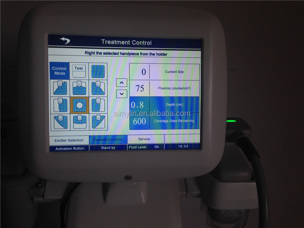 LIPOHIFU und Hifu 2 Generation Fokussierte Ultraschall-Haut, die Korea-Hifu-Schönheitsmaschine anhebt