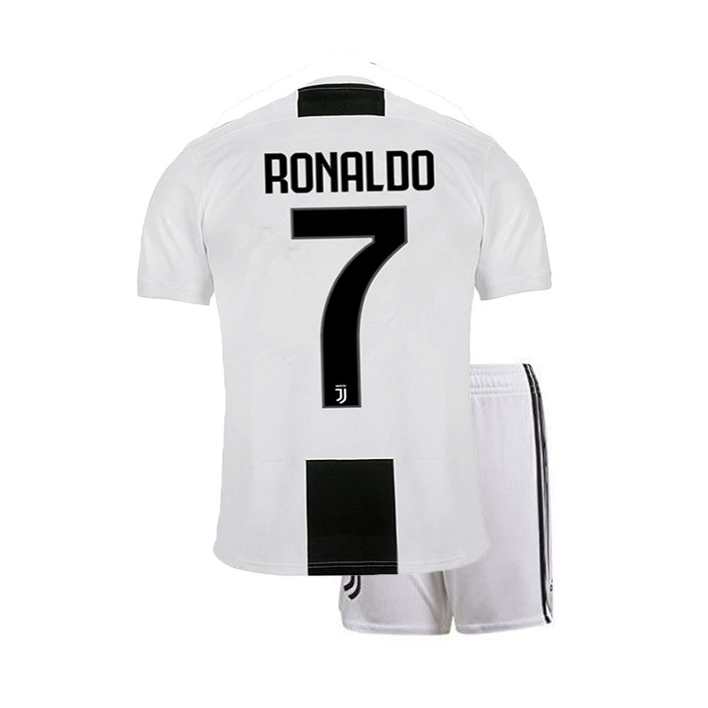 Get Quotations · beolous Men s Ronaldo   7 Soccer Jersey 2018 2019 Juventus Home  Jersey 1273ec442