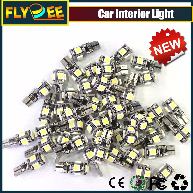 High power t10 5050 smd led lights in China with canbus ultra brightness
