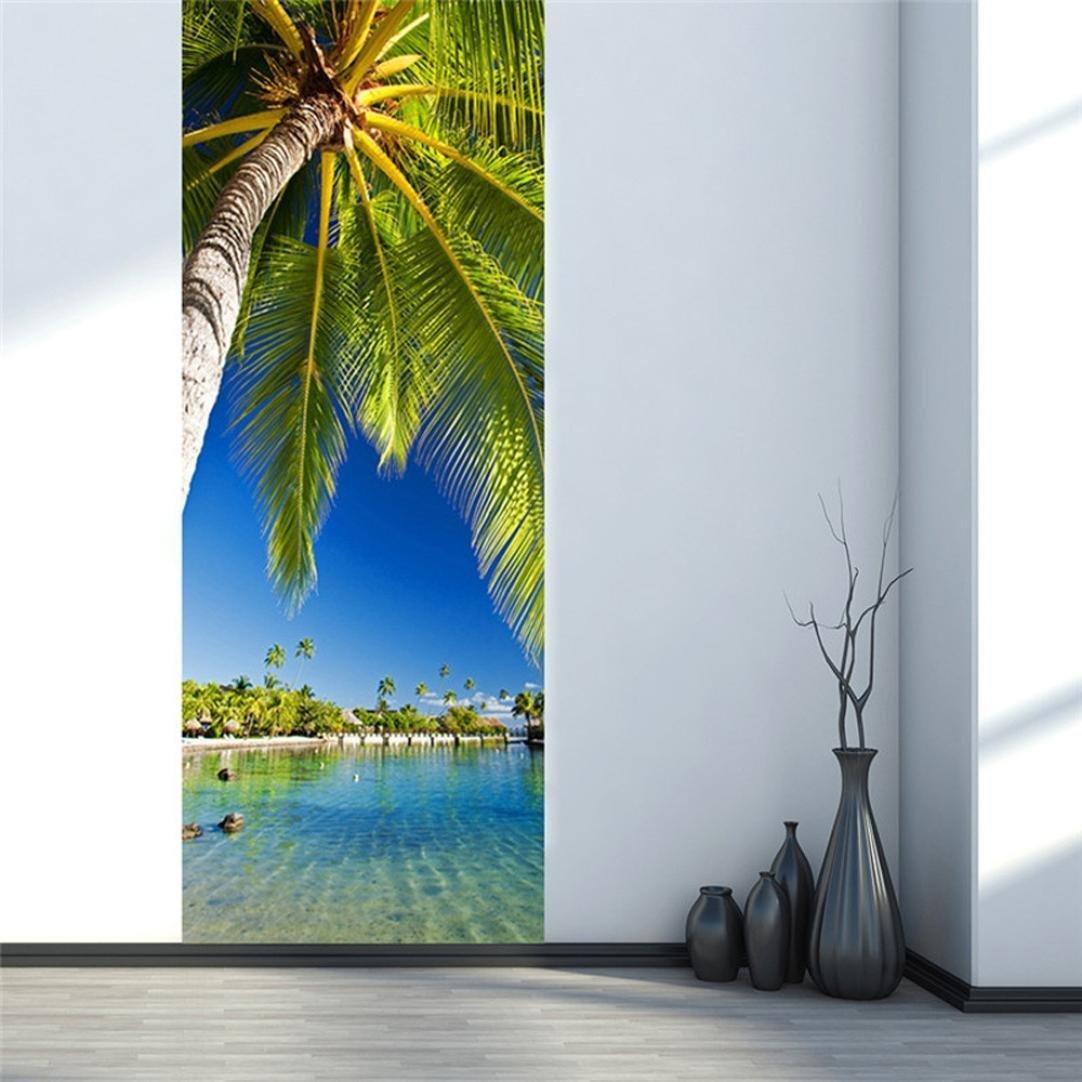 Rumas 3D Wall Sticker Art Decor Vinyl Removable Mural Poster Scene Window Door