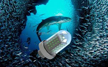 12v 24v Solar Power Up-water Boat Fishing Luring Lights ...