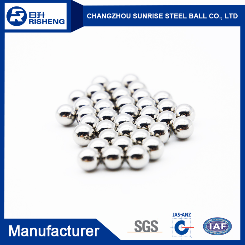 Different Models of 3.175mm 440C stainless steel ball from China famous supplier