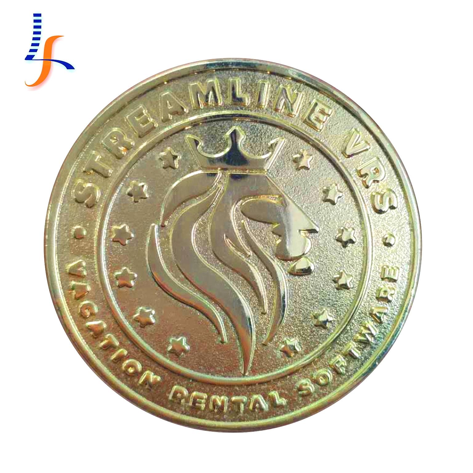 Fabricantes China custom forma de prata do metal da moeda do desafio