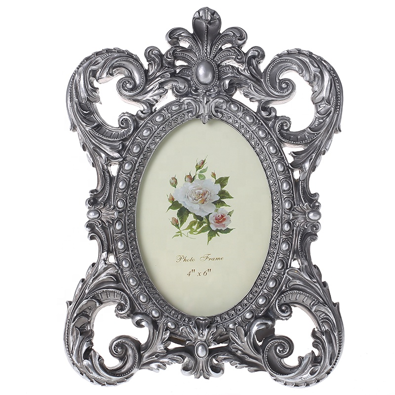 European <strong>Vintage</strong> Creative Carved Picture <strong>Frame</strong> with Resin Material for Sale