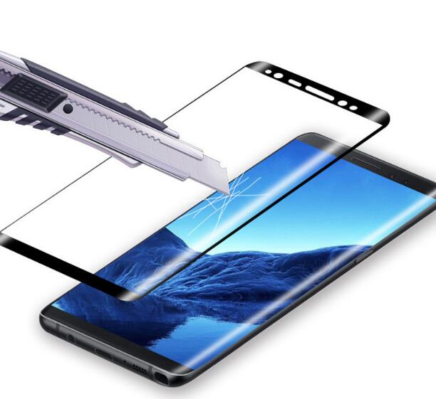 3D hot bending full cover Film Ultra Thin Tempered Glass Screen Protector for samsung galaxy s7 s7 edge s8 s8 s9 plus