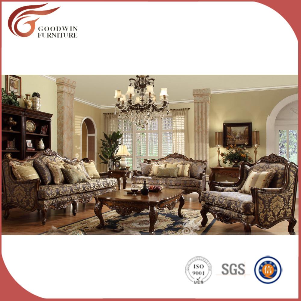 Lujo barroco franc s dise o sof muebles cl sicos sal n for Clasicos del diseno muebles
