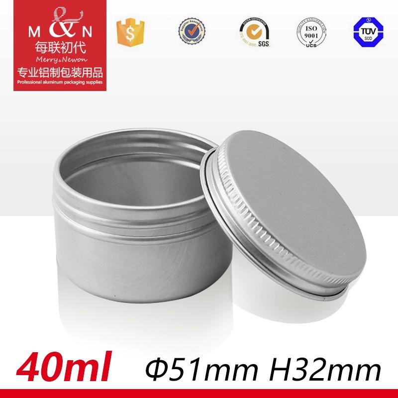 Guangzhou Fabriek Groothandel Lege Aluminium Cosmetische Crème Tin Jar