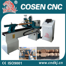 computer controlled wood carving machine/woodlathe/cnc lathe mach3
