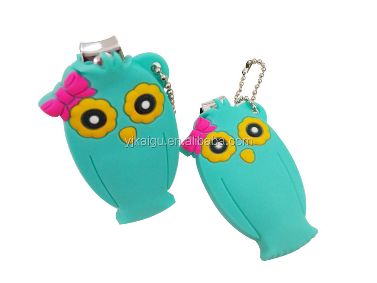 New Arrival Owl Manicure Key Chain Nail Clipper Nail Cutter