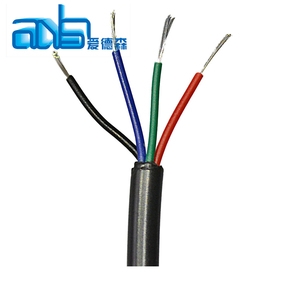 SJT SJTW PVC INSULATED 4 core cable wire