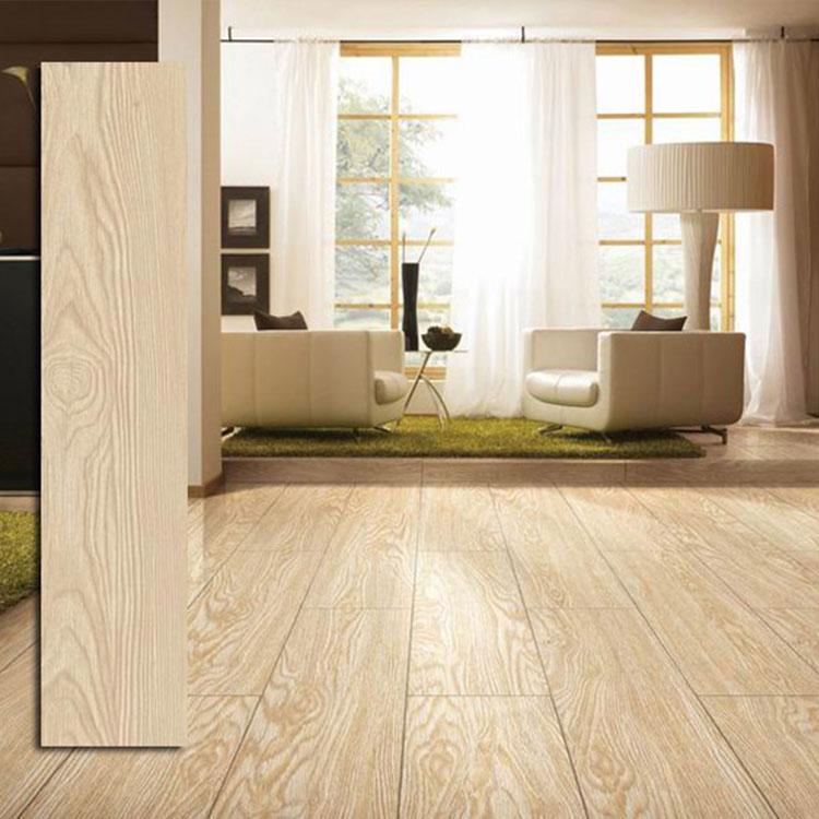 150x600 ceramic tiles wooden waterproof bedroom flooring tile
