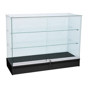 Best selling cheap glass counter for shop display