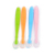 Creative Hotsale Factory Custom Food Grade Silicone Baby Feeding Spoon Training Accessories For Kids