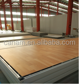 Light weight material prefab house sandwich panel