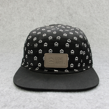 Hot Sell Custom 6-panel Spiked Rap Gold Plate Snapback Cap Hat ... c1fb0d1fd17