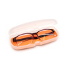 Best Selling Pure Colour Light Weight Plastic Material Eyeglasses Storage Case For Kids
