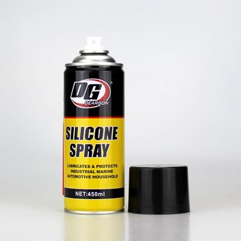wood metal plastic rubber surface care aerosol product lubricant type silicone spray