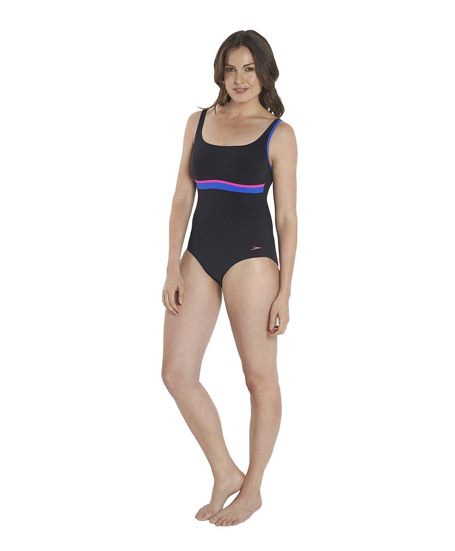 2d64ce661655e Get Quotations · Speedo Women s Sculpture Contour One Piece Swimsuit