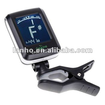 lcd clip on guitar tuner for electronic digital chromatic bass violin ukulele buy lcd clip on. Black Bedroom Furniture Sets. Home Design Ideas