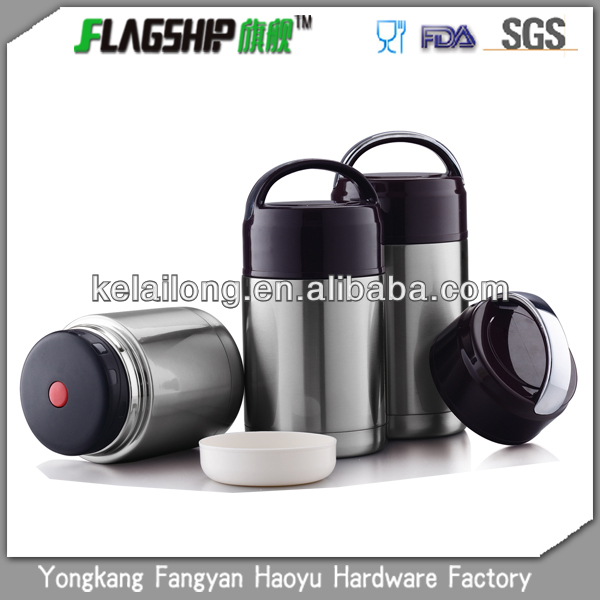 Portable stainless steel bucket with lid