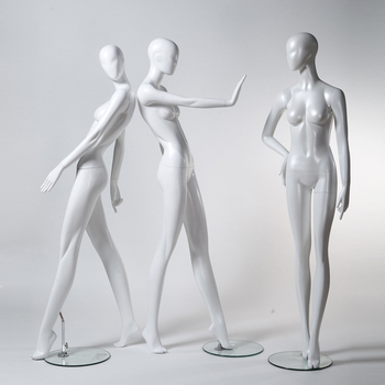 Abstract Female Mannequin, Plus Size Mannequin for Window Display