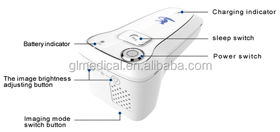 Economic led light intravenous transilluminator vein finder system vein loctor led operation