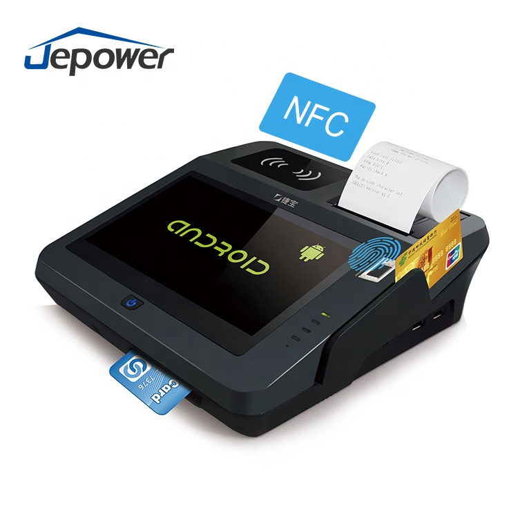 All in one Touch Screen Terminal Pos Android Com CE, FCC, BIS