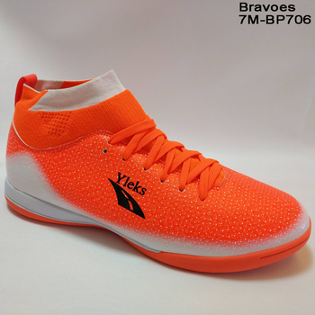 Best Quality New Style Sock Indoor Football Shoes, High Ankle Soccer Shoes