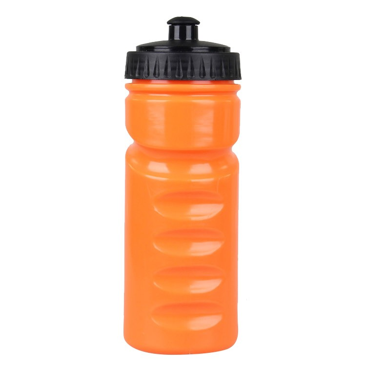 600 ml PE plastic squeeze sport water bottle bpa free with nozzle