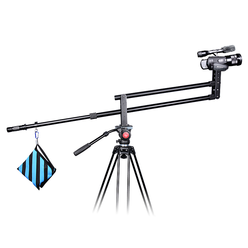 YELANGU Aluminum Alloy 2M J1 Camera Crane Jib for DSLR Camera