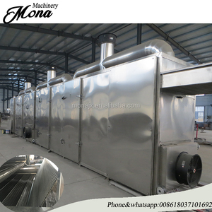 continuous belt hot air dryer fruit and vegetable mesh conveyor belt dryer/stainless steel red chilli pepper drying machine