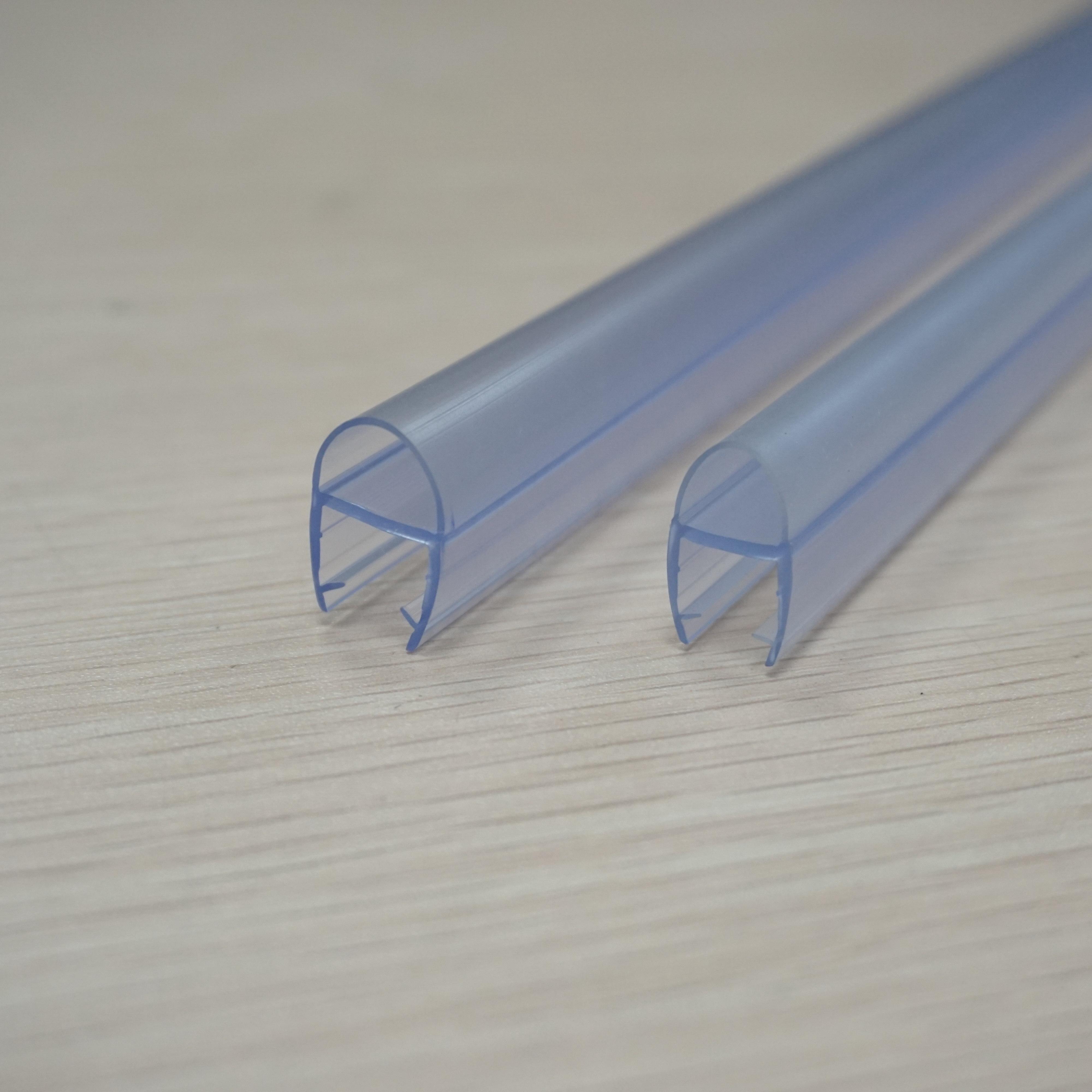 Glass Shower Door Seal Strip Pvc Rubber Plastic Shower Sweep