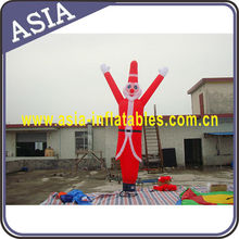 Christmas Waving Man Air Dancer/Decorational Christmas Santa Clause Air Dancer/Tall Two Legs Air Dancer Costume Santa Claus