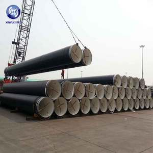 24 Inch Diameter AWWA C200 GR 2 SSAW Spiral Saw Steel Line Pipe for Water Drainage Projects