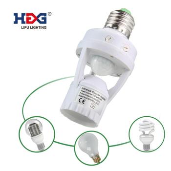 De De Para SótanoDespensa Ángulo Ac Soporte Hembra Led Detección Interruptor Adaptador 240 V De El La Movimiento Sensor Lámpara E27 360 De 100 3TJ5ulFK1c