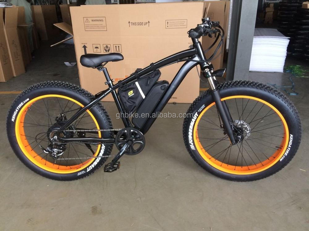 2017 750w bafang electric fat tire mountain e bike fat tyre e bicycle