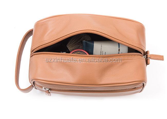 China Manufacturer Wholesale New Style Pu Leather Cosmetic Bag