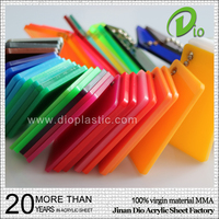 strong surface advertising best price 2mm colorful acrylic sheet