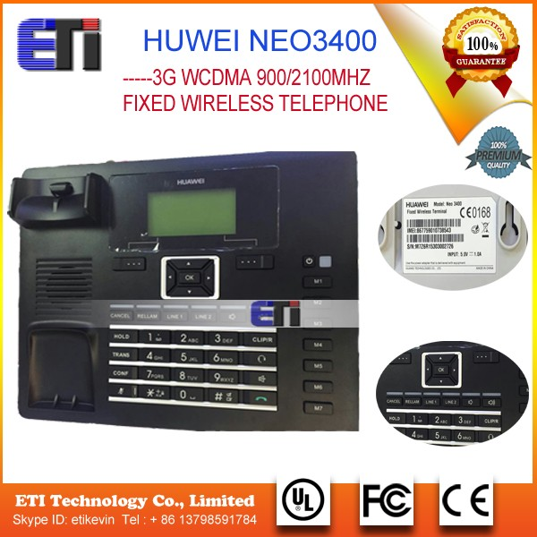 New Origin Huawei Neo3400 3g Wcdma 900/2100mhz Vodafone Fixed ...