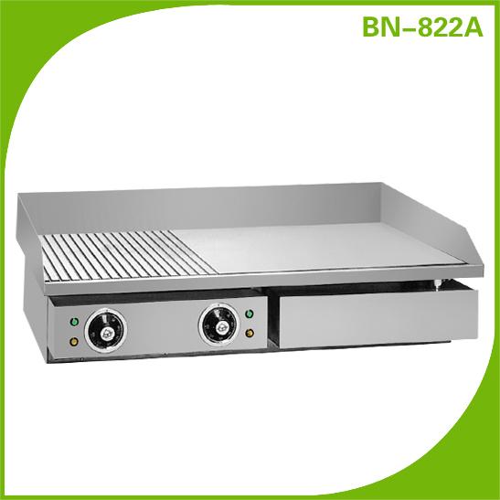Elettrico in acciaio inox piastra commerciale bbq griglia - Piastra in acciaio inox per cucinare ...
